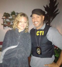 JAguas Rojas with Julia Stiles. The film is also called Out of the Dark. Directed by Lluís Quílez.